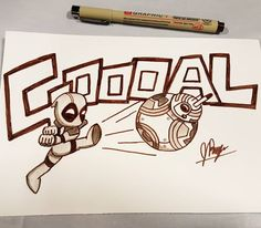 Here's a drawing I did yesterday at the SC Comicon! It just… felt right =P