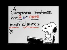 ▶ Simple, Compound, & Complex Sentences - YouTube