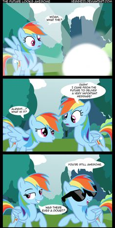 Rainbow Dash is always awesome