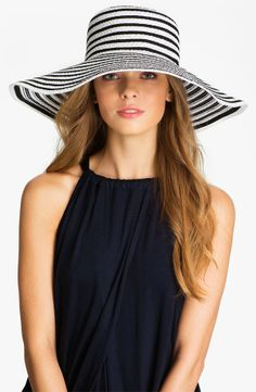 a345198404e1c Nordstrom Packable Sun Hat - Spring Hats - Extraordinary Fashion Blog  Wearing A Hat