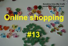 Online shopping #13 - Wood buttons / Деревянные пуговицы