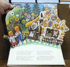 Vojtech Kubasta - Gingerbread house Pop up book - Kubašta - Perníková chaloupka Retro 2, Retro Kids, Pop Up Art, Up Book, Magic Words, Old Toys, My Childhood, Illustrators, Gingerbread