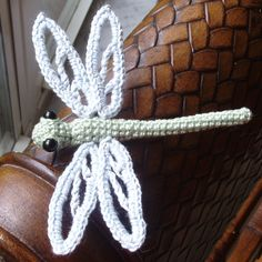 Crochet Dragonfly- wish I could find this pattern