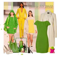 Love this green dress, so very Joan (Holloway) Harris from Mad Men