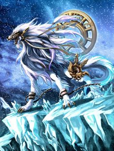 fenrir son of loki the first werewolf! Mystical Animals, Mythical Creatures Art, Mythological Creatures, Magical Creatures, Anime Wolf, Dragons, Fantasy Beasts, Dragon Artwork, Fantasy Dragon