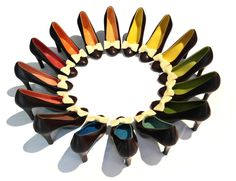 Scarpe arcobaleno