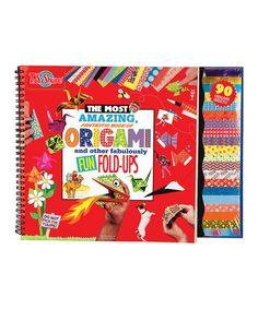 Another great find on #zulily! Origami & Other Fabulously Fun Fold-Ups Kit #zulilyfinds