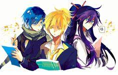 Len, Gakupo, Kaito
