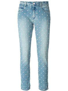 Stella McCartney  embellished 'Skinny Boyfriend' jeans FF