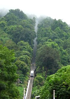 Penang Hill train, Malaysia