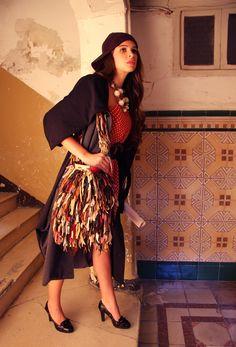 Sesión fotográfica de moda con Teresa Escobedo. Mirada Creativa