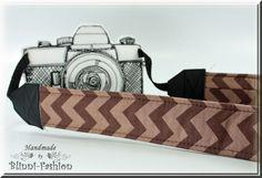Kameraband / Kameragurt / camera strap von Blinni-Fashion - ZICKZACK - Kameraband Chevron - ein Designerstück von Blinni-Fashion bei DaWanda  #Kamera, #Photograph, #Photo, #Kameragurt, #Kameraband, #camerastrap, #Kameratasche, #camerabag, #photographie