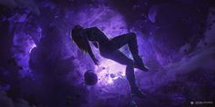 Floating Space Girl By Minioceane On Deviantart Floating In Space Anime Backgrounds Wallpape. Dark Fantasy, Fantasy Art, Space Fantasy, Marvel Wall Art, Marvel Coloring, Marvel Photo, Super Hero Outfits, Super Hero Costumes, Flux Pavilion