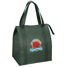 Imprint your full-color logo on this insulated bag!