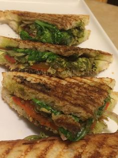 Italian Sandwich with Chicken and Grilled Veggies in a robust Pesto, served grilled. Our owners favourite snack/meal at the ‪#‎CoffeeShop‬ ‪#‎HotelMidtownPritam‬