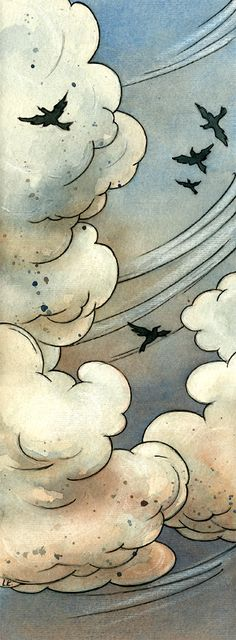 Air /// by ~liga-marta Traditional Art / Paintings / Illustration / Conceptual ©2012 ~liga-marta