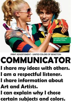 IB LEARNER PROFILE - Communicator