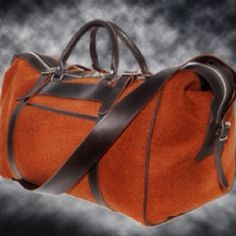 This is a stylin' weekend bag.