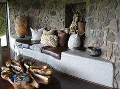 Singita Boulders Lodge: Sitting area in bedroom