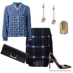 Hoje e sempre - xadrez #fashion #moda #personalstylist #personalstylistbh #consultoriademoda #consultoriadeimagem #looks #lookdodia #lookoftheday #estilo #style #trend #tendencias #marcbymarcjacobs #marcodevicenzo #louboutin #saintlaurent #bo.bo #kathykamei          Veja mais em www.carolinedemolin.com.br
