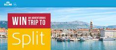 KLM - Win a 6 Night Trip for 2 to Split, Croatia - http://sweepstakesden.com/klm-win-a-6-night-trip-for-2-to-split-croatia/