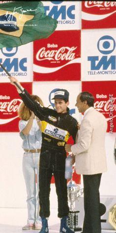 Grande Prêmio do Brasil – 1986 | Ayrton Senna