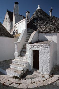 Trullo Stairway Alberobello , Italy, Bari  Puglia