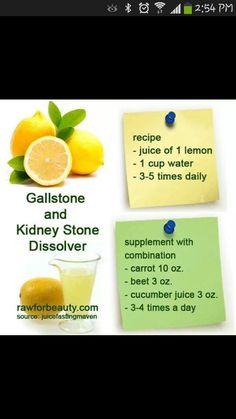 Gallstone & Kidney Stone Dissolver