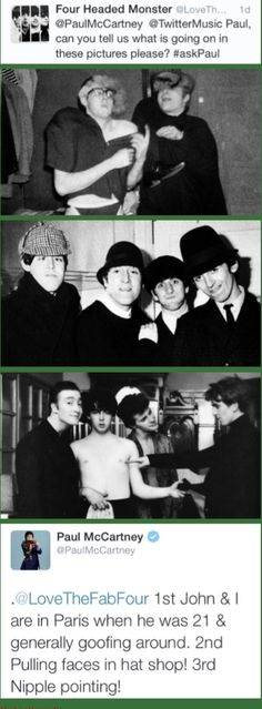 "Sir Paul McCartney: ""3rd Nipple Pointing!"""