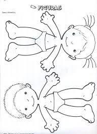 """Képtalálat a következőre: """"rompecabezas del cuerpo humano para niños de 6 piezas"""" Halloween Activities For Kids, Fun Activities, Crafts For Kids, Preschool At Home, Thinking Day, Busy Book, Preschool Worksheets, Kids Education, Paper Dolls"""