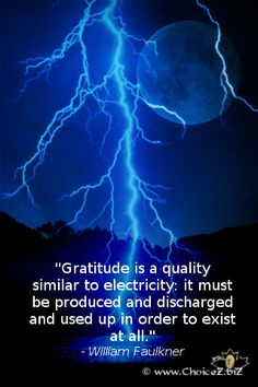 Gratitude - William Faulkner - iPod Wallpaper