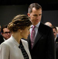 Los reyes de España Felipe VI  y doña Letizia en el Museo de San Juan (Puerto Rico). EFE/GASTÓN DE CÁRDENAS.