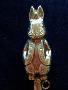 Peter Rabbit Silver Baby Rattle