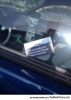 Bad Parking Notice