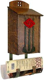 Use these free plans to make your very own mailbox. Dream Furniture, Furniture Projects, Wood Projects, Bandsaw Projects, Wall Mount Mailbox, Mounted Mailbox, Modern Craftsman, Craftsman Style, Craftsman Mailboxes