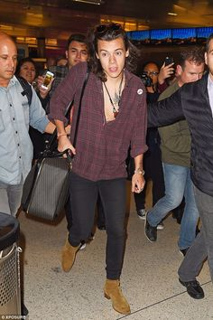 He's a star: Harry's sighting comes days after he hosted a star-studded £200,000 bash for ...