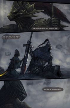Dark Souls,фэндомы,DS art,DS персонажи,Artorias The Abysswalker,Lord's Blade Ciaran,Dragon slayer Ornstein,Hawkeye Gough