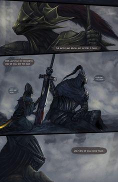Dark Souls,фэндомы,DS art,DS персонажи,Artorias The Abysswalker,Lord's Blade Ciaran,Dragon slayer Ornstein,Hawkeye Gough