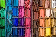 rainbow colors....