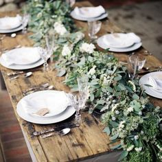 Une table 100% nature