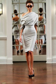 I love this dress and just about every single one in this collection! Victoria Beckham  - ELLE.com
