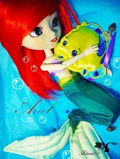 Ariel full custom by me (pullip Asuka)