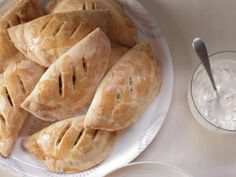 Get Kelsey Nixon's Black Bean and Sweet Potato Empanadas Recipe from Cooking Channel