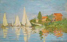 Claude Monet - Regates a Argenteuil