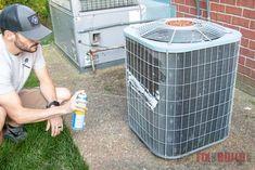 HVAC Basics: Air Conditioner Maintenance – Home Maintenance Duct Cleaning, House Cleaning Tips, Clean Air Conditioner, Air Conditioner Cover, Hvac Maintenance, Clean Air Ducts, Diy Home Repair, Home Repairs, Decoration