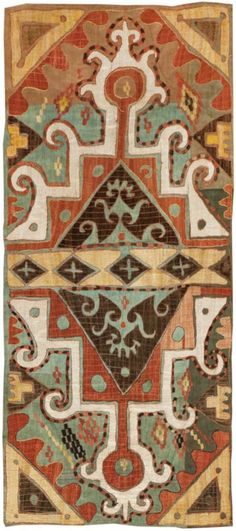 Antique Kaitag Embroidery #45208 Main Image - By Nazmiyal http://nazmiyalantiquerugs.com/antique-rugs/antique-caucasian-rugs/antique-kaitag-embroidery-45208/