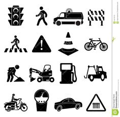 traffic-signs-icons-set-vector-illustration-road-sign-black-white-background-44173175.jpg (1332×1300)