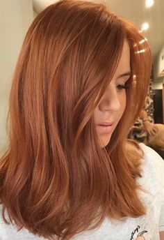 How to Get Rid of Split Ends: 17 Best Sp. - How to Get Rid of Split Ends: 17 Best Split End Treatment Products - Hair Color Auburn, Red Hair Color, Short Auburn Hair, Copper Gold Hair Color, Red Colored Hair, Golden Copper Hair, Light Copper Hair, Medium Auburn Hair, Copper Brown Hair