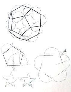 Una forma de introducirnos de manera práctica en la geometría es a través de la realización de lámparas ,esta actividad es ya recurre... Origami And Kirigami, Origami Folding, Paper Crafts Origami, Cardboard Crafts, Puzzle Lights, Origami Lampshade, Diy Lampe, Math Crafts, Love Coloring Pages