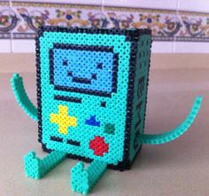 Bmo Adventure Tme 3D with hama beads